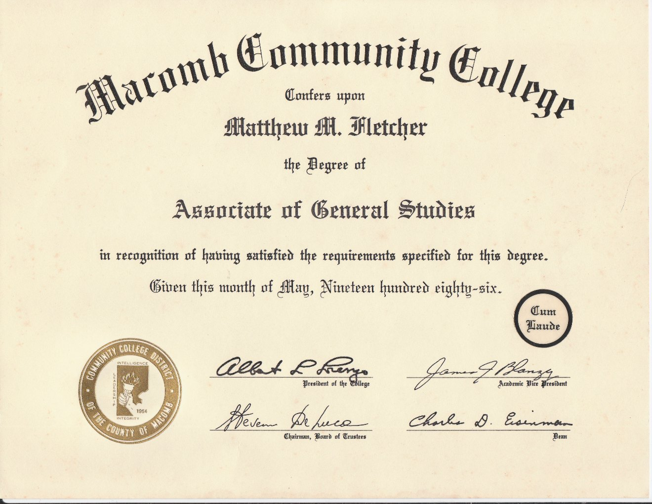 the status of achieving the college degree College in a four-year sector, regardless of time spent or hours accumulated in the two-year college transfer rate the proportion of students who transfer to a four-year college or university with or without completion of a degree at the two-year institution.